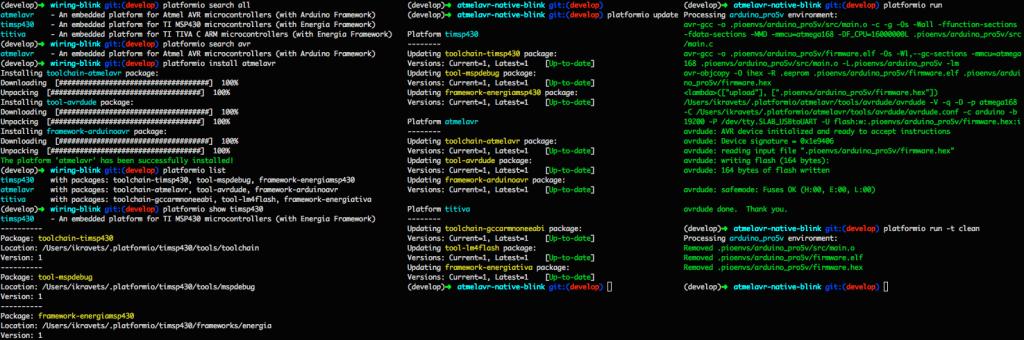 PlatformIO Example